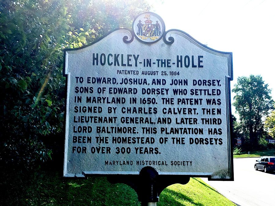 Hockley In The Hole Annapolis Anne Arundel County Historical Markers