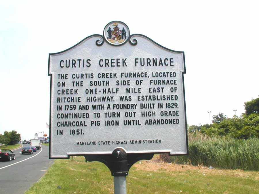 Curtis Creek Furnace Glen Burnie Anne Arundel