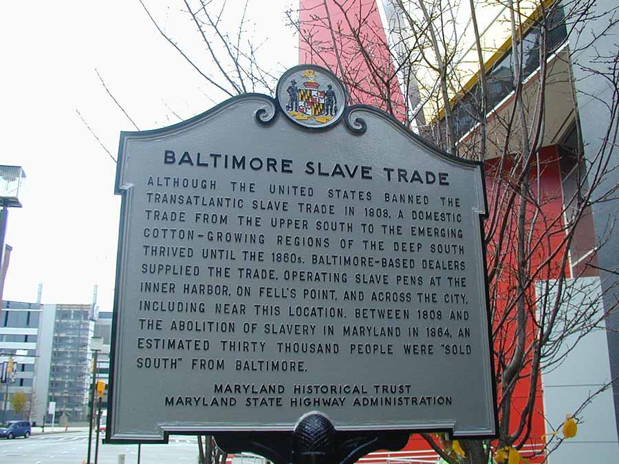 an introduction to the history of slavery in maryland About slavery it's an ancient  slavery is one of history's most egregious and persistent  documents and information submitted under the maryland.