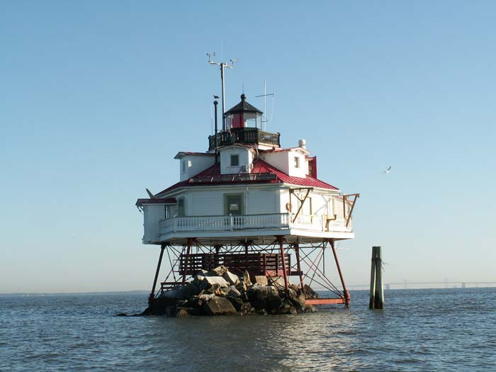 Thomas Point Shoals Lighthouse
