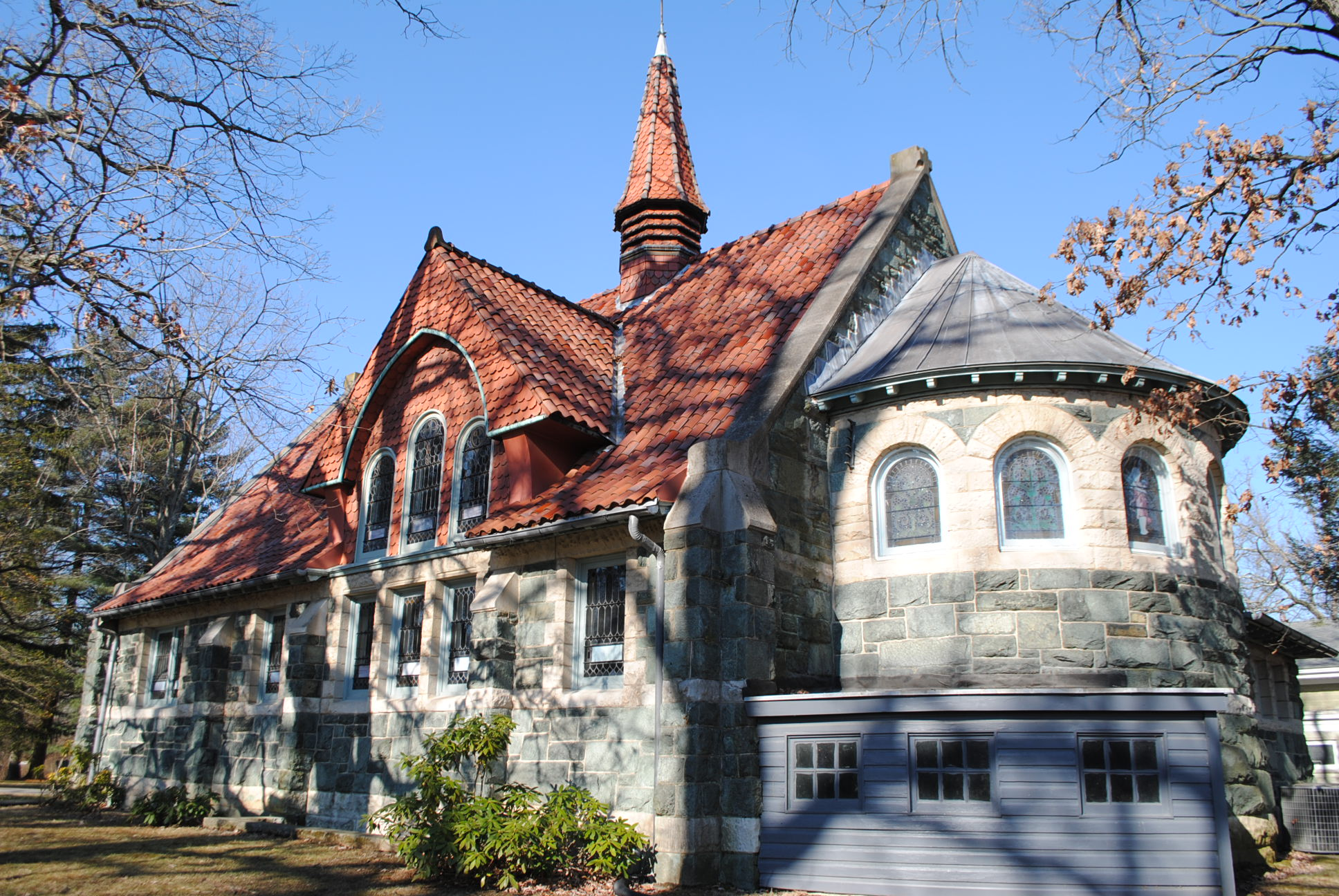 All Saints Episcopal Church, Baltimore County. Peter Morrill, 2014.